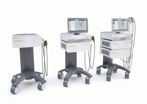 Modular system for radial and focused SWT with ultrasound DUOLITH® SD1 (Storz Medical)
