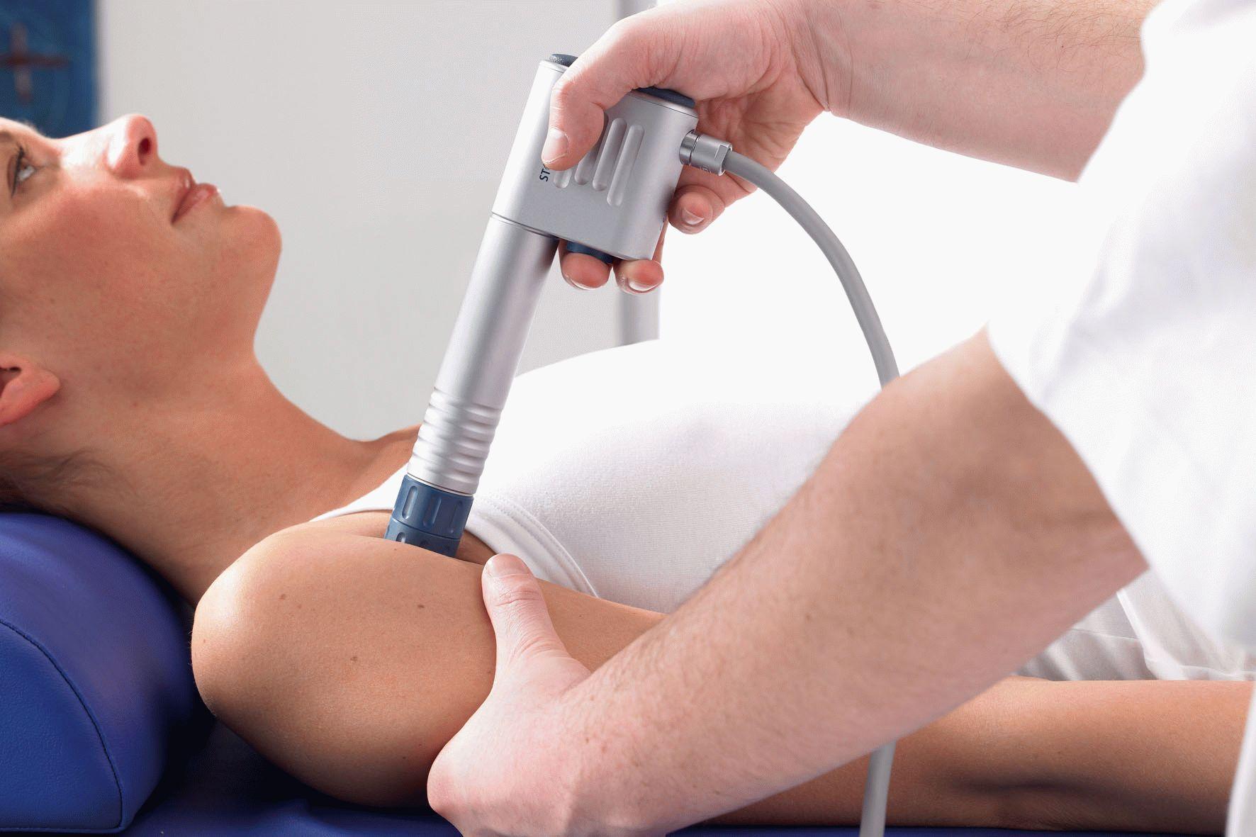 лечение бурсита ударно-волновой терапией
