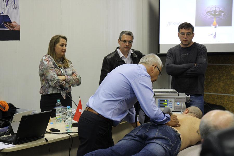мастер-класс по ударно-волновой терапии от Шторц Медикал